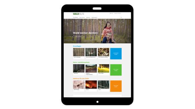 Teaser: Waldhilfe - Das Portal für Ihren Wald